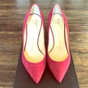 Giuseppe Zanotti Design scarpa nuovo Camoscio